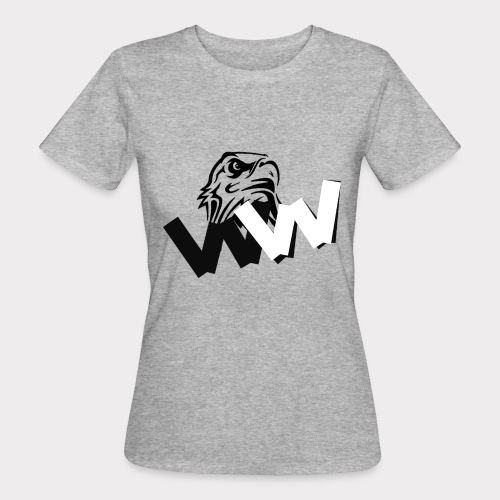 White and Black W with eagle - Women's Organic T-Shirt
