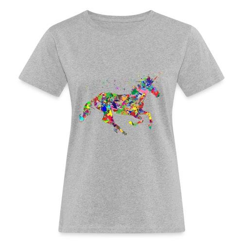 Einhorn - Frauen Bio-T-Shirt