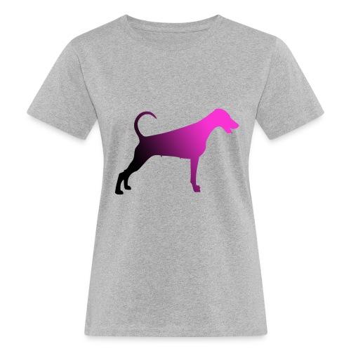 Dobermannfemnatpinkblack2 - Naisten luonnonmukainen t-paita