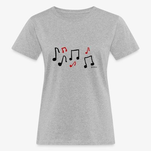 Nuotit - Naisten luonnonmukainen t-paita