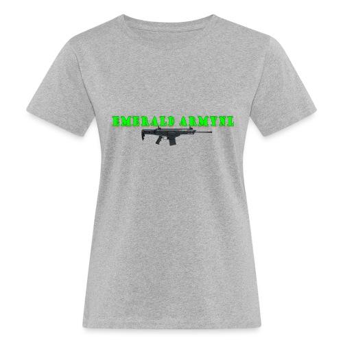 EMERALDARMYNL LETTERS! - Vrouwen Bio-T-shirt