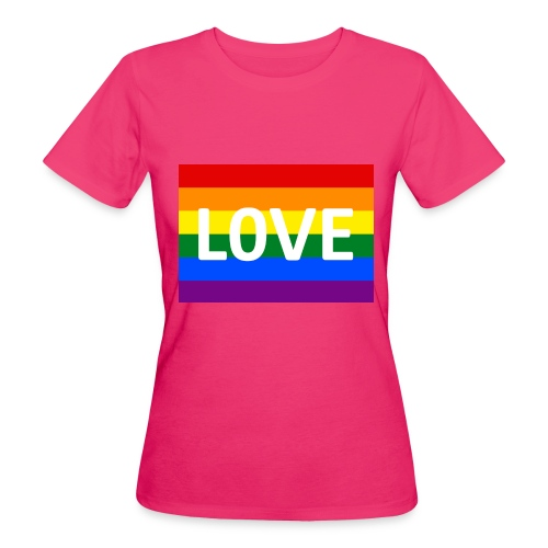 LOVE RETRO T-SHIRT - Organic damer