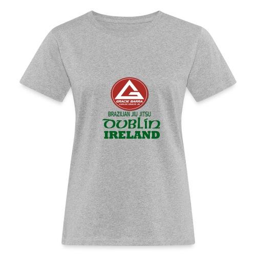 Gracie Barra Dublin Gaelic Celtic Font PNG - Women's Organic T-Shirt