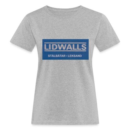Lidwalls Stålbåtar - Ekologisk T-shirt dam