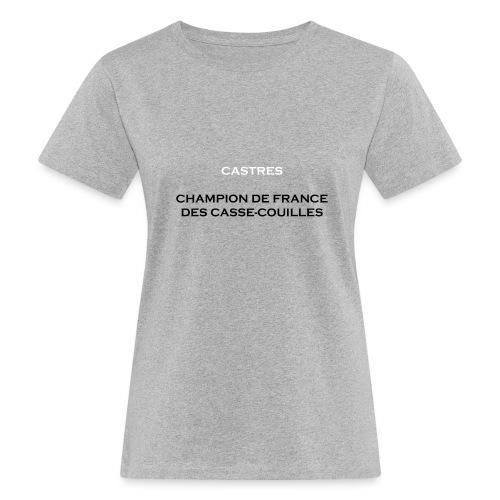 design castres - T-shirt bio Femme