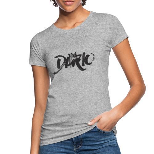 illustration logo noir - T-shirt bio Femme