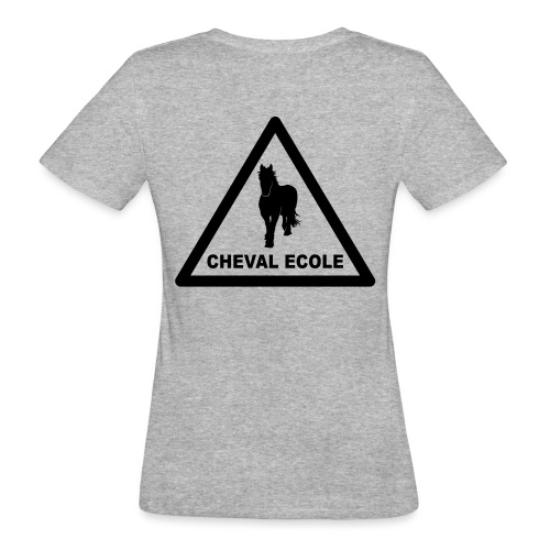 chevalecoletshirt - T-shirt bio Femme