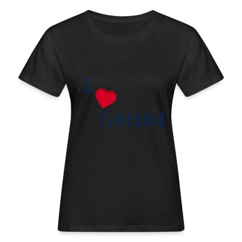 I Love Finland - Women's Organic T-Shirt