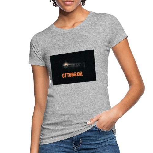 svart granit polerad - Ekologisk T-shirt dam