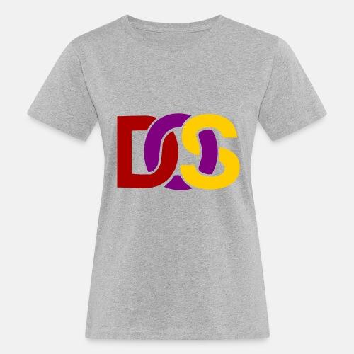 Retro MS DOS Logo - Women's Organic T-Shirt