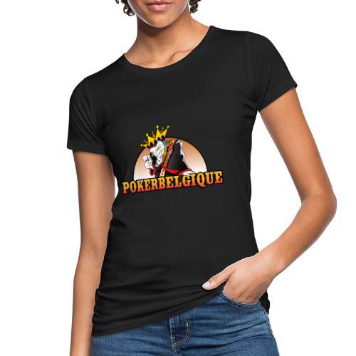 Logo Poker Belgique - T-shirt bio Femme