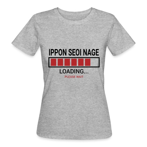 Loading... Ippon Seoi Nage - Ekologiczna koszulka damska