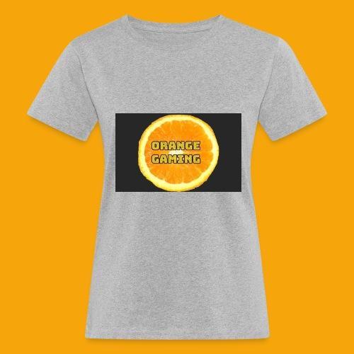 Orange_Logo_Black - Women's Organic T-Shirt