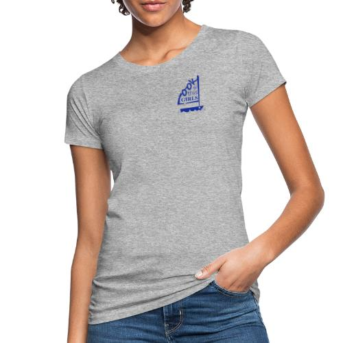 AndriesBik look thisGIRLS shirt witteletters - Vrouwen Bio-T-shirt