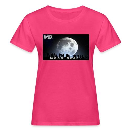 Moon beach - T-shirt ecologica da donna