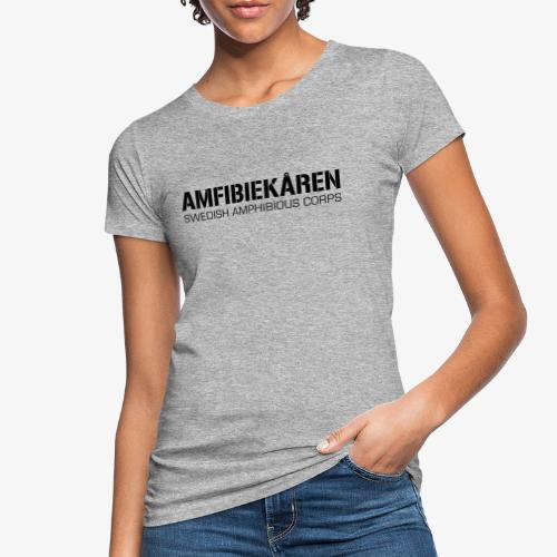 Amfibiekåren -Swedish Amphibious Corps - Ekologisk T-shirt dam