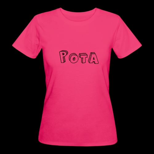 pota1 - T-shirt ecologica da donna