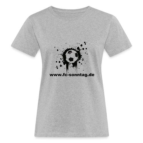 FC Sonntag Ball - Frauen Bio-T-Shirt