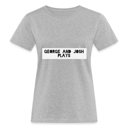 George-and-Josh-Plays-Merch - Women's Organic T-Shirt