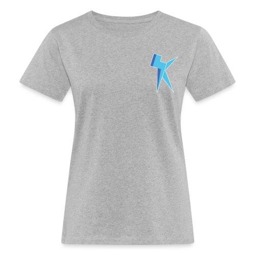 K Vlogs Logo - Vrouwen Bio-T-shirt