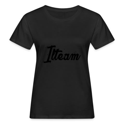 Ilteam Black and White - T-shirt bio Femme