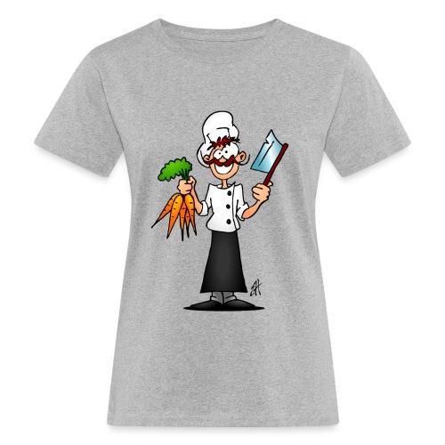 The vegetarian chef - Women's Organic T-Shirt