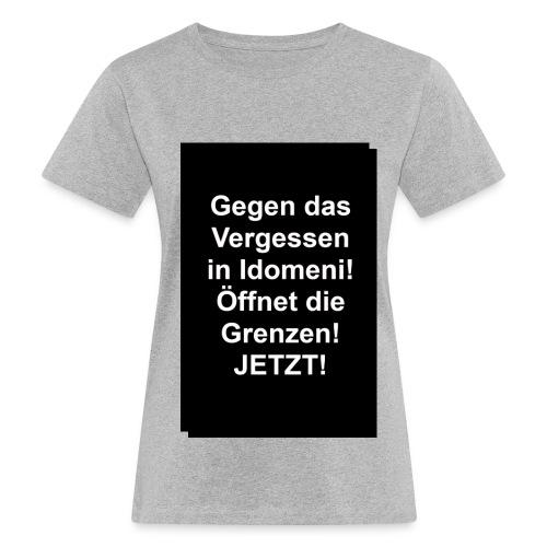 Gegen das Vergessen - Frauen Bio-T-Shirt