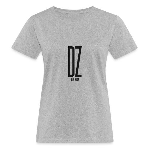Logo transparent noir DZ 1962 - T-shirt bio Femme
