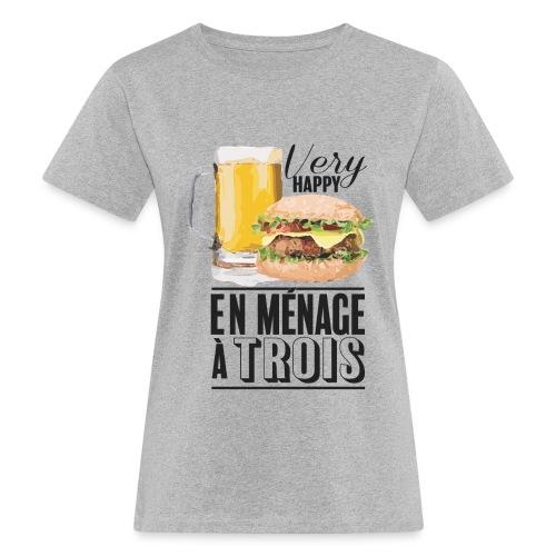Ménage à trois - T-shirt bio Femme