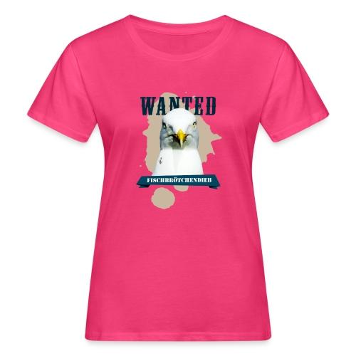 WANTED - Fischbrötchendieb - Frauen Bio-T-Shirt