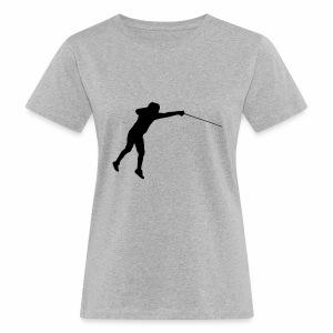 Jumping Fencer - Frauen Bio-T-Shirt