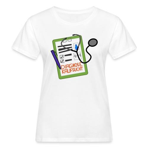 Diagnose Kaufsucht Klemmbrett - Frauen Bio-T-Shirt