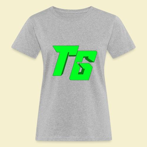 TristanGames logo merchandise [GROOT LOGO] - Vrouwen Bio-T-shirt