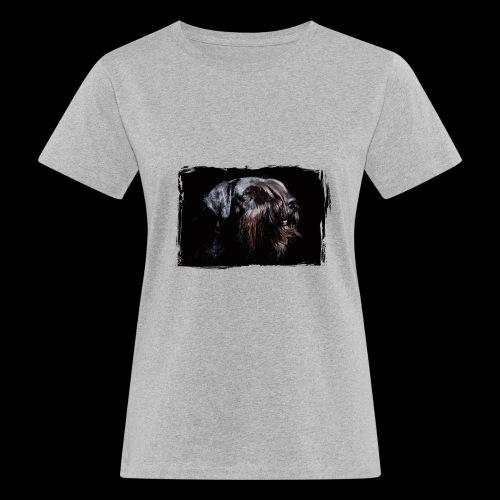 Schnauzerportrait - Frauen Bio-T-Shirt