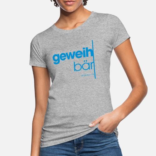 geweihbär 2019 - Frauen Bio-T-Shirt