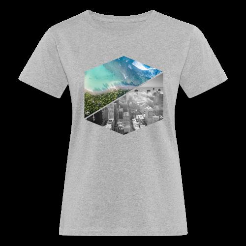 City vs Palm Beach - Frauen Bio-T-Shirt