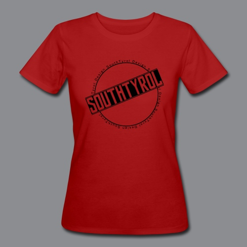 SouthTyrol Kreisform - Frauen Bio-T-Shirt