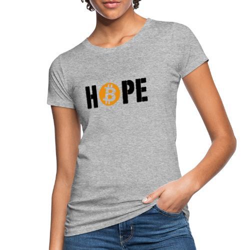 HOPE BTC - T-shirt bio Femme