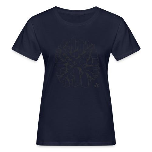 croix en perspective - T-shirt bio Femme