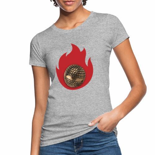 petanque fire - T-shirt bio Femme