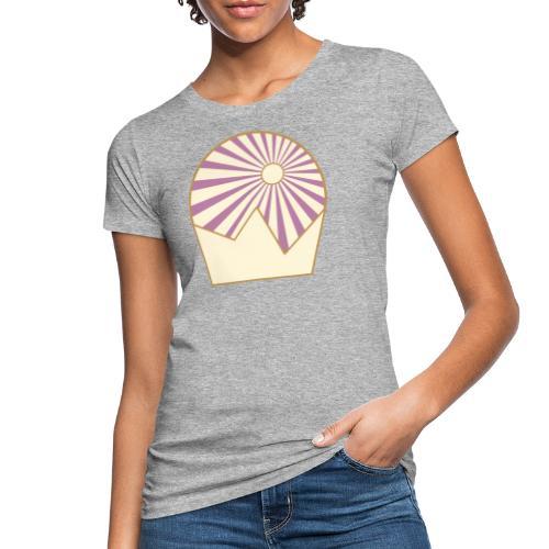 Logo Sun and Mountain - Frauen Bio-T-Shirt