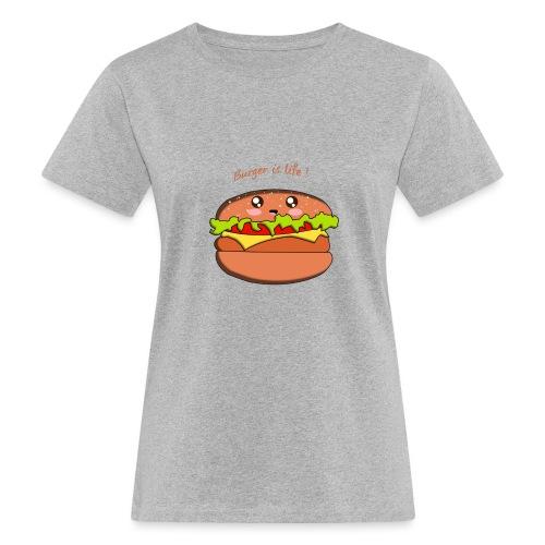 hamburger - T-shirt bio Femme