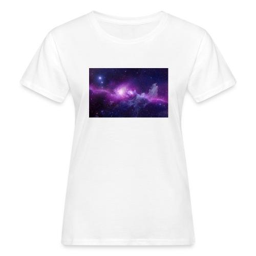 tshirt galaxy - T-shirt bio Femme