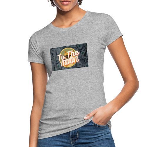 Dogecoin To the moon - Ekologisk T-shirt dam