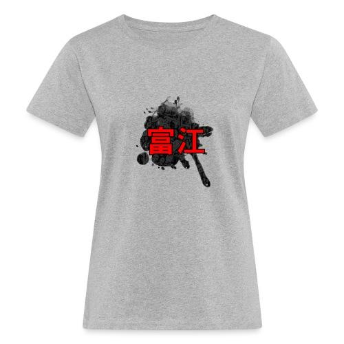 junji ito - T-shirt ecologica da donna