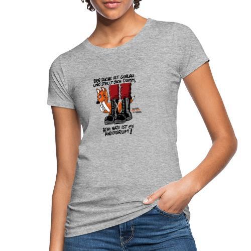 fuchsschlau - Frauen Bio-T-Shirt