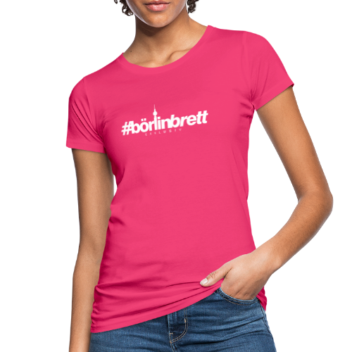 börlinbrett - Frauen Bio-T-Shirt
