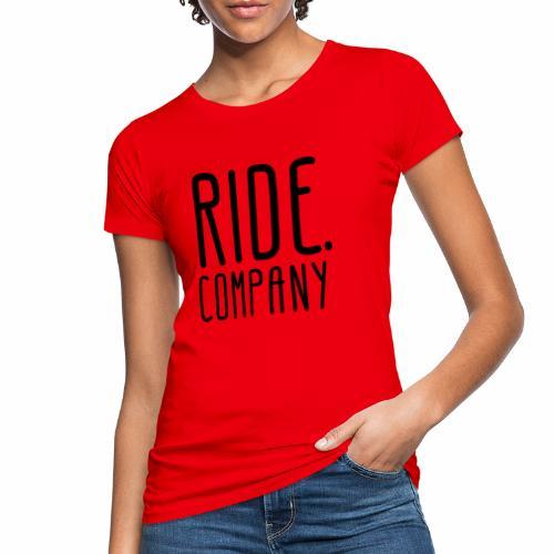 RIDE.company - just RIDE - Frauen Bio-T-Shirt