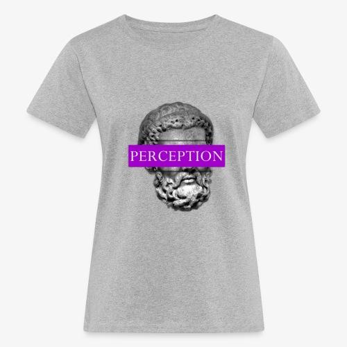 TETE GRECQ PURPLE - PERCEPTION CLOTHING - T-shirt bio Femme
