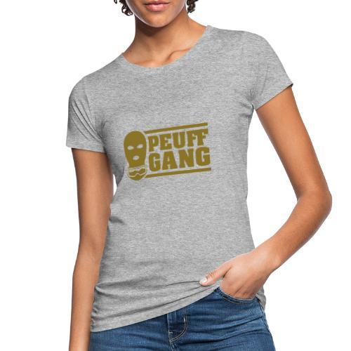 Peuff Gang Gold - T-shirt bio Femme
